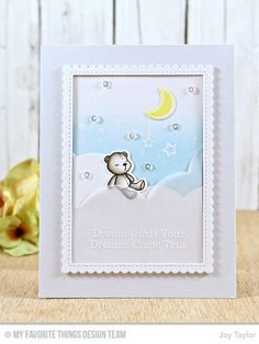 Somebunny I Love Stamp Set and Die-namics, Stitched Triple Peek-a-Boo Window & Edge Die-namics, Stitched Rectangle Scallop Edge Frames Die-namics - Joy Taylor  #mftstamps