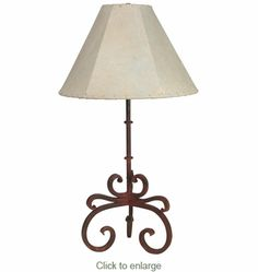 Floor lamps spanish