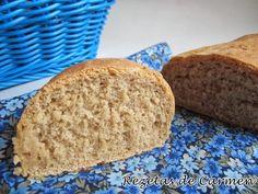 Pan de trigo y centeno con masa madre para el Dia Mundial del Pan