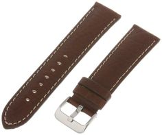 Hadley-Roma Men's MSM906RB-220 22-mm Brown Genuine Leather Watch Strap - http://www.specialdaysgift.com/hadley-roma-mens-msm906rb-220-22-mm-brown-genuine-leather-watch-strap/
