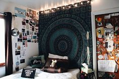 bedroom, hipster room, room inspiration, tumblr, tumblr room ...