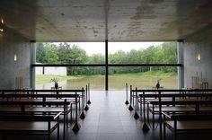 1988 | Chapel on the water | 水の教会 | Tomamu, Hokkaido
