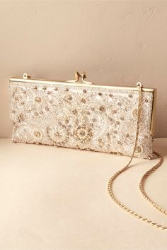 BHLDN Tearoom Clutch in  Bride Bridal Accessories Bridal Clutches & Gloves | BHLDN