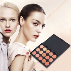 "Concealer/contour palette New. 15 color concealer/contour palette. Package dimensions: 4"" x 3"", fits in any purse!☺️ Thank you for visiting my closet, please feel free to ask questions. I offer great discounts on bundles  Makeup Concealer"