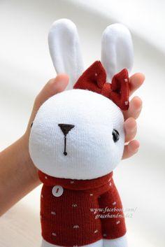 Grace--#401 sock Domy Rabbit