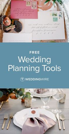 Easy to use free wedding planning tools - Checklist, Budget tool, Wedding Website, and more! Get started on planning your dream wedding with WeddingWire.
