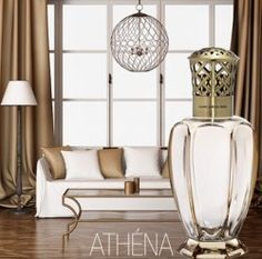 Marvelous Athena Honey By Lampe Berger