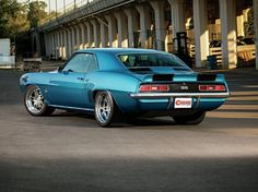 Check out Jeff Dupont's 1969 Chevrolet Camaro! Dupont and Jay Doerfler built this beautiful Pro Touring '69 to make it the immaculate G-Machine it is today.