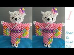 水晶串珠 動漫類飾品 泰迪熊(新郎款) 1/3 - YouTube