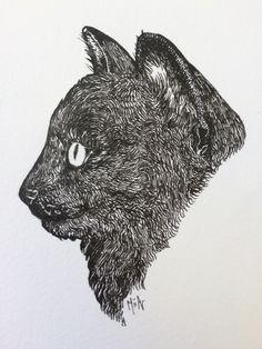 Meow  #cats #illustration #art #artwork #drawing