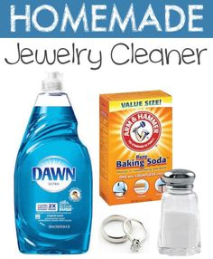 Homemade Jewelry Cleaner | Homemade Household Product Hacks | Never Buy These Products Again!
