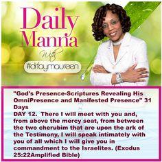 Daily Manna #166 Gods Presence Day 12