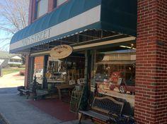 Mitzi's on Main - Antique Shop in downtown Blue Ridge, Georgia #antiques #downtown #blueridgega