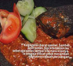 Bagi pecinta sambel pasti setuju dg quotes ini??? Jangan Lupa LIKE n SHARE yaaa.. :)