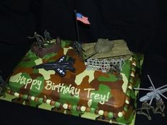 Image detail for -Army & Camo themed Birthday Party Ideas!. Army Tank Pinata; Cake ...