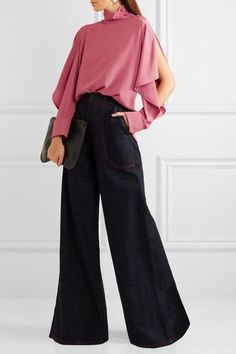 616d7896bc4 Marni - Cutout washed-crepe turtleneck top