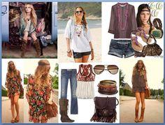 hippie chic | Hippie Chic ou Boho