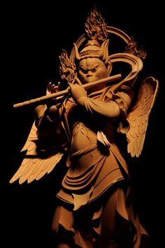 Japanese Culture, Japanese Art, Japanese Buddhism, Buddha Sculpture, Buddhist Art, Tantra, Gods And Goddesses, Deities, Statue