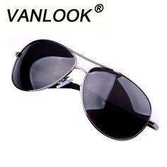 df760d20e2786 Polarized Men s Sunglasses Brand Oculos Masculino Gunmetal Glasses Classic  Metal Eyewear Sun Glasses for Men