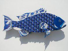 Bud Light Bottlecap Fish Metal Grouper Fish Wall Art by EricsEasel, $165.00