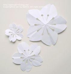 벚꽃 모빌 만들기_달리아의 봄맞이 인테리어 소품 DIY ♡ : 네이버 블로그 Origami, Baby Art, Kindergarten Activities, Paper Art, Diy Crafts, Projects, Flower, Art On Paper, Log Projects