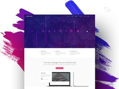 Logo inspiration:  Halcyon - Modern Website Template by Milo Themes   Hire top quality creatives to grow your business at Twine. Twine can help you get a web design, web inspiration, website design, logo, graphic design, branding, ux design, ui design and more.
