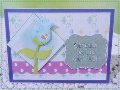"""Cartão Temático """"Dia do Amigo"""""""