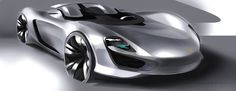porsche mission e sketch - Google 검색