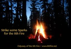 Strike some #soul    #sparks  ~ the #wisdom  necessary for the #journey  ~ #Odyssey of the #8thfire ~ http://8thfire.net  ~ #sacred #travel for the #earth #multicultural #pilgrims   #pilgrimage   #adventure