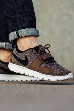 NIKE SB Trainerendor Brown Tweed