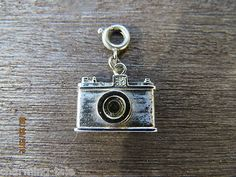 Vintage Silvertone Monet Camera Charm with Stanhope of The American Flag | eBay