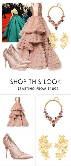 """met gala"" by andhika-n on Polyvore featuring GALA, Isabel Sanchis, Dolce&Gabbana, Ralph & Russo and Pippa Small"