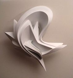 WyPee (2009) size: 70x70x27 cm/ 30x30x10 inches, cardboard filled with polyurethane foam and painted by matte white.