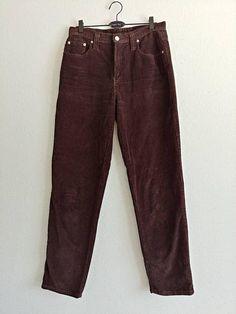 Vintage Brown Corduroy Pants