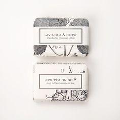 lavender & clove body soap
