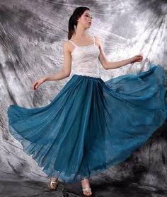 Hey, I found this really awesome Etsy listing at https://www.etsy.com/listing/96889187/chiffon-maxi-skirtlong-skirtpleated
