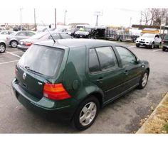 #5. 2001 VW Golf - Green.