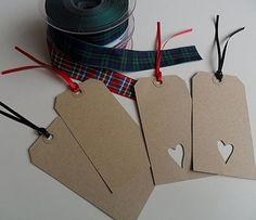 Super Cute Gift Tags-I love the simplilcity