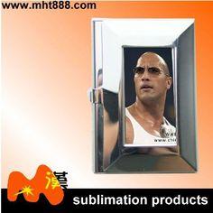 Sublimation blanks business card holder F15 sublimation metal name card holder $0.92~$1.33