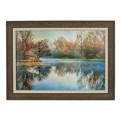 Pointski Lake Framed Art Print   Kirklands