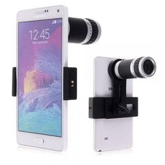 You can use it alone as a microscope or mount it to the cellphone to extend the potential of camera lens. Universal holder fits most cellphone with width between 2.17in to 3.15in. #cellphonegadgets #yeswefixgadgets #telescope