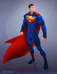 Superman - OG DC remix by ogi-g on DeviantArt Batman Vs Superman, Superman And Lois Lane, Superman Family, Superman Man Of Steel, Superman Wonder Woman, Spiderman, Superman Cosplay, Superman Stuff, Arte Dc Comics