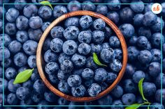 Canada is exploding in blueberries right now. No, really—there is more land devoted to blueberries than any other fruit across the country, with apples coming in second. It's also our number-one exported fresh fruit, but I say let's eat as much as we can of this incredible native berry. In this week's blog I talk about the two types of blueberries and give you an amazing blueberry recipe for you to try! Click the image to head to my website. Healthy Fruits, Healthy Life, Healthy Snacks, Blueberry Juice, Anti Inflammatory Recipes, Healthy Living Magazine, Healthy Aging, Wooden Bowls, Brain Health