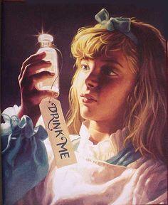 More Mystical, Mythical, Magical Board: Greg Hildebrandt - Alice in Wonderland