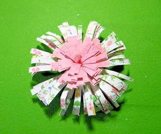 Make a Paper Fringe Flower