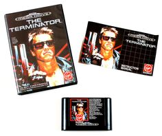Sega Mega Drive Spiel The Terminator in OVP