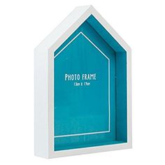 Beach Hut Photo Frame Blue from Rex London - the new name for dotcomgiftshop. Great value gifts and homeware in original designs. Free UK delivery available. Thing 1, Little Island, Picture Sizes, Picture Frames, Beach, Pictures, Blue, Walls, Nautical