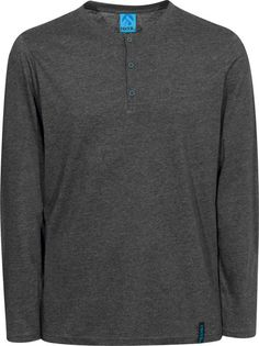 The #Henley by #Iriedaily is the classic amongst all Henley #shirts. It is made from a very soft and comfortable cotton-jersey and comes with a stylish button tape on the collar. #titus #onlineshop #skateshop