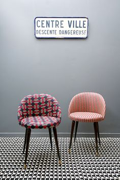 Fauteuils Cocktail MadameLaBroc / CSAO