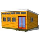 ***************************** 12x20 modern shed plans - for the outbuilding woodshop
